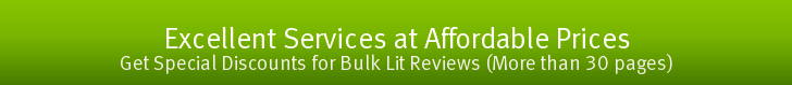 Affordable Literature Review